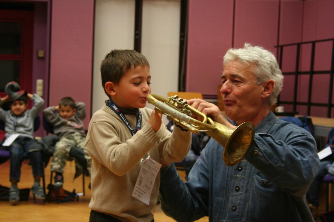 Kind und J.Baensch klein