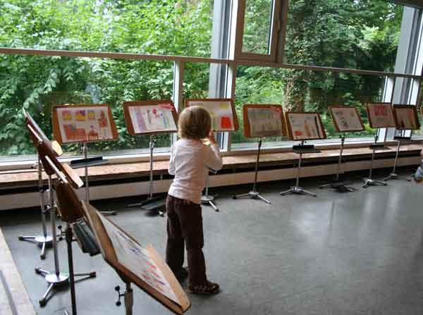 Ausstellung Malwettbewerb
