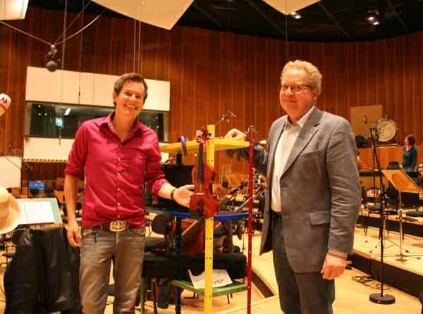 Malte Arkona und der Komponist Prof. Tarkmann