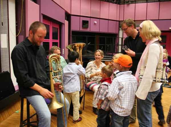 Trompete, Posaune und Tuba – schweres Blech