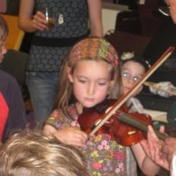 Allererste Geigenstunde