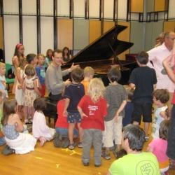 Ein toller Pianist kann auch toll erklären