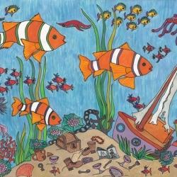 Fisch Leo - Bild von Banu Baydur